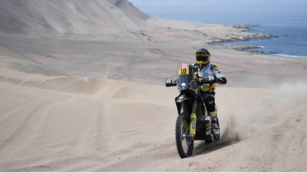 Dakar: el campeón vigente en motos tuvo que abandonar