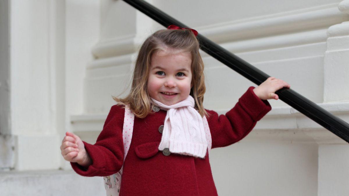 La princesa Charlotte comienza a ir al jardín infantil