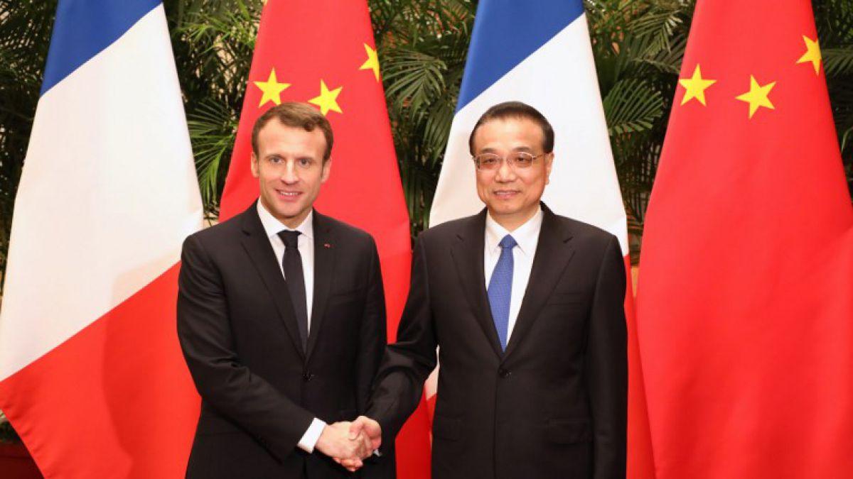 Macron en China