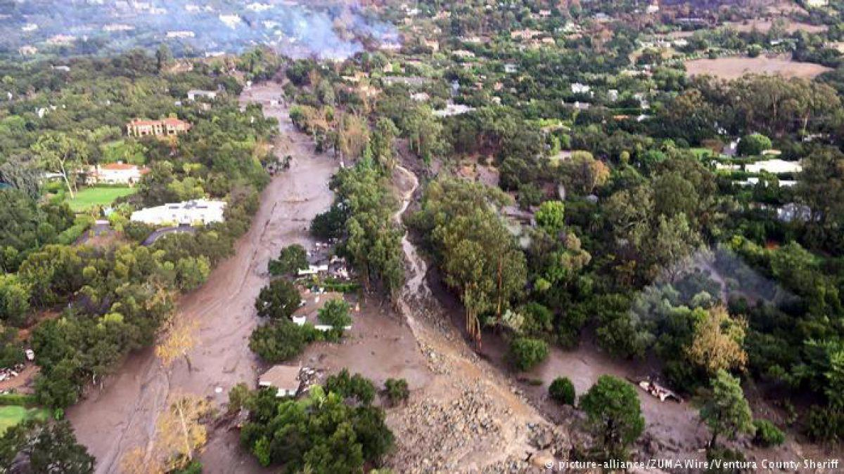 Deslave en California deja ocho muertos