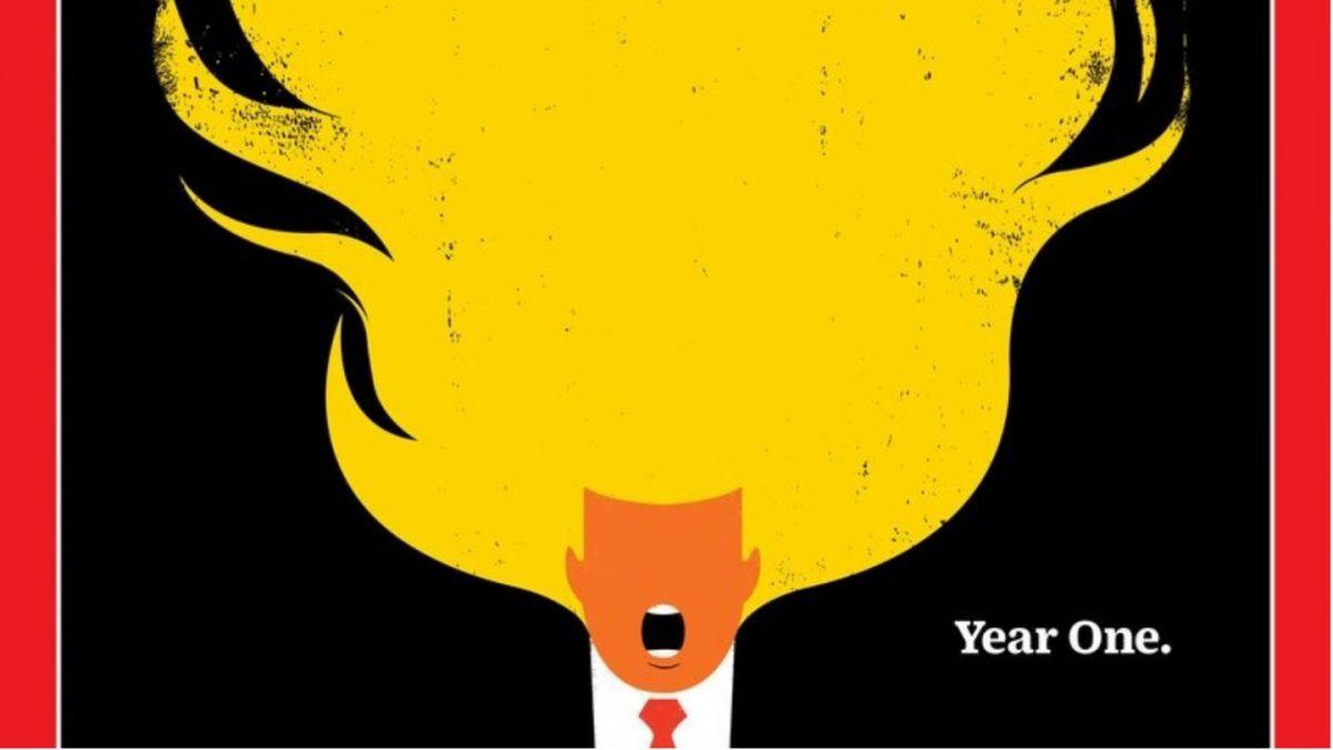 Revista Time dedicará su portada al cabello de #TrumpEnLlamas