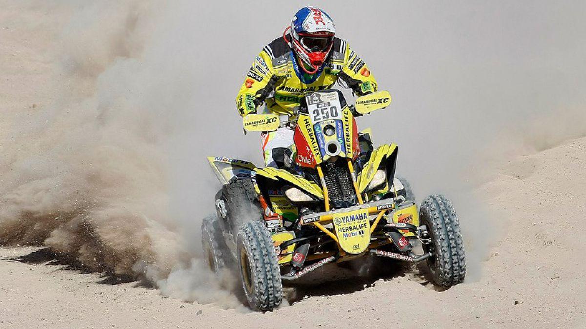 Ignacio Casale es tercero en séptima etapa del Dakar y continúa líder en quads
