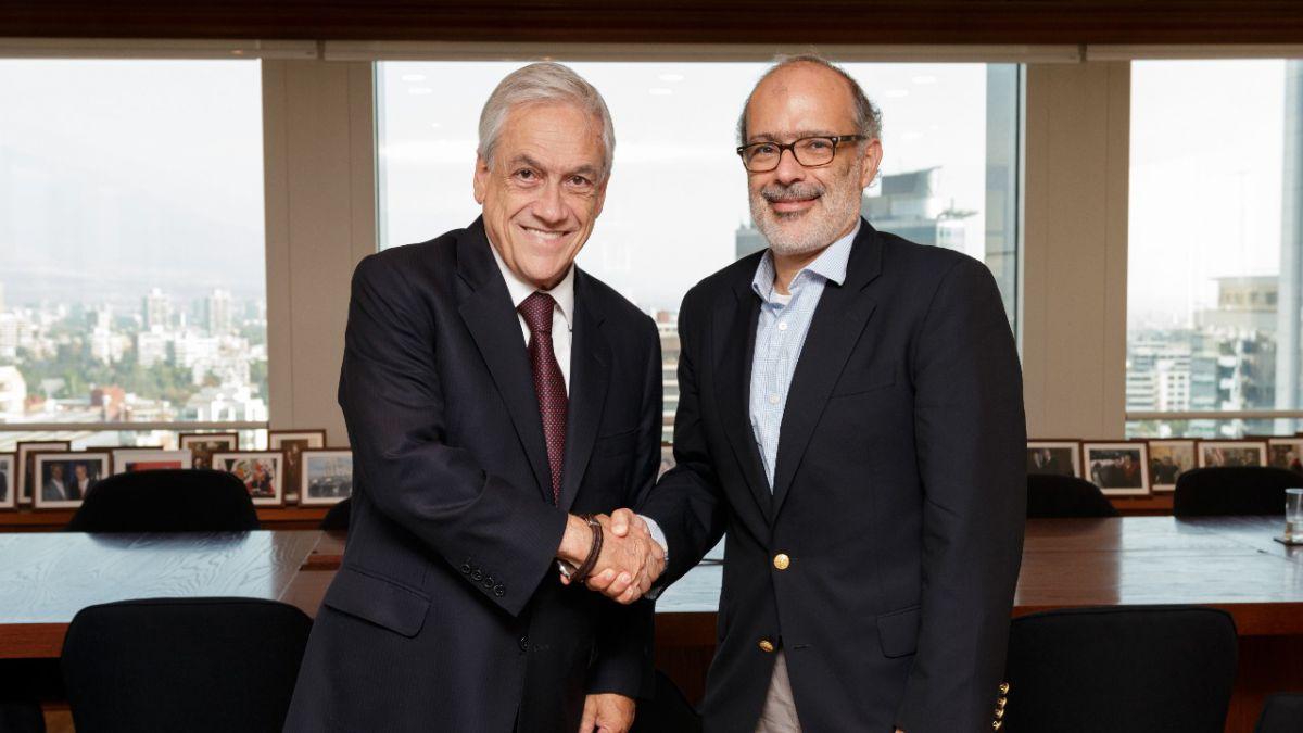 Exministro Valdés se reunió sorpresivamente con Sebastián Piñera
