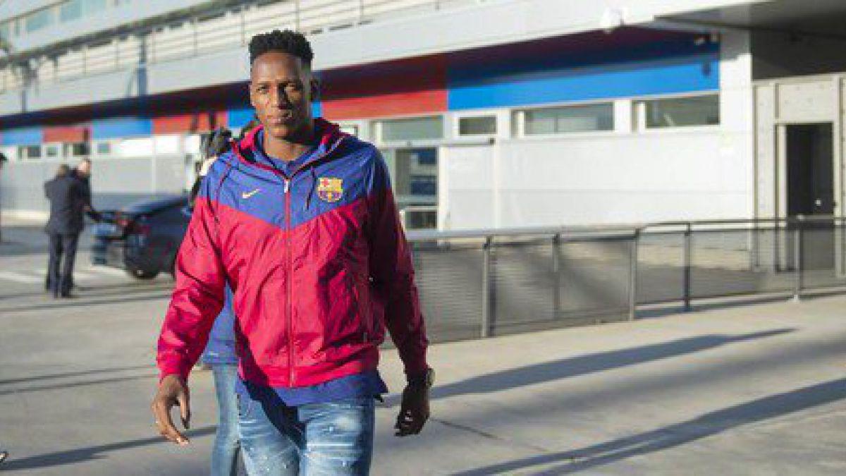 Yerry Mina pasa el examen médico antes de su presentación oficial en FC Barcelona