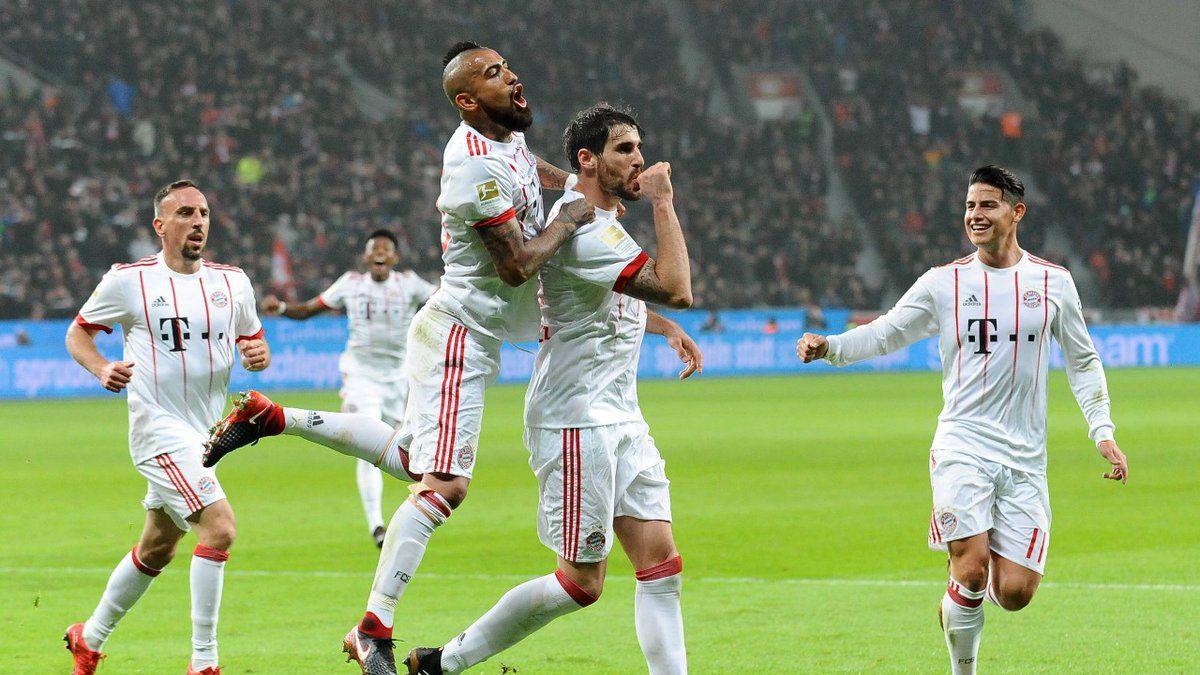 Arturo Vidal triunfa con el Bayern Munich en la Bundesliga