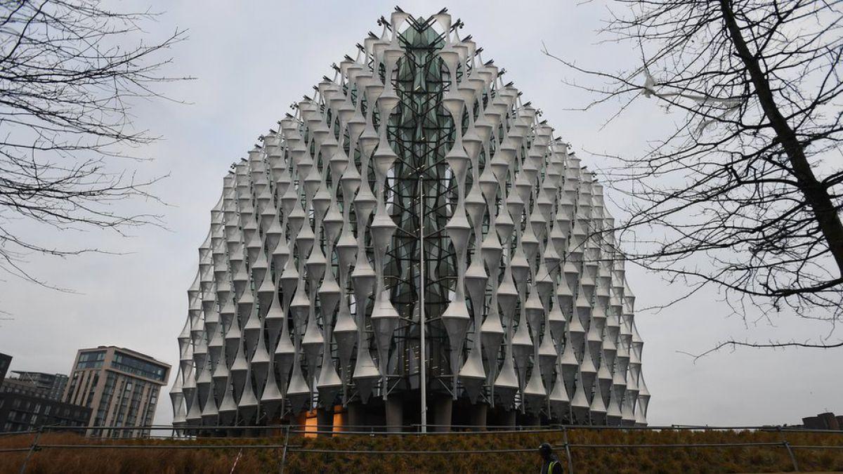 Así es la embajada más cara del mundo que EE.UU. inaugurará en Londres