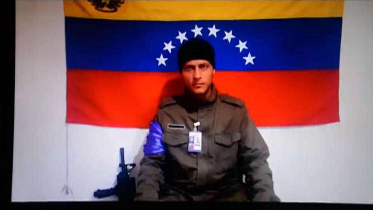 Óscar Pérez difunde video asegurando estar rodeado por cuerpos de seguridad