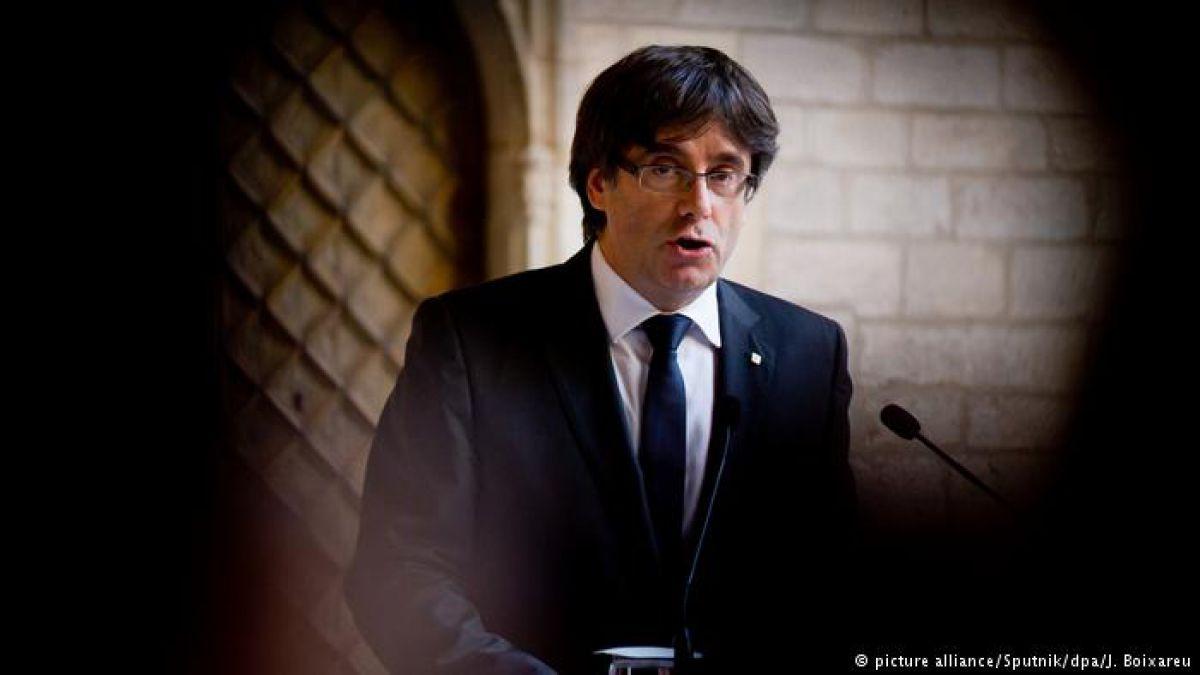 Alemania: tras su detención, declara Carles Puigdemont