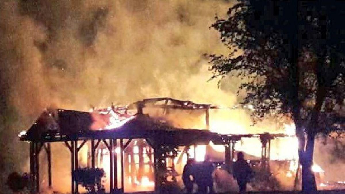 Gobierno interpone querellas por ataques a iglesias y quema de helicópteros
