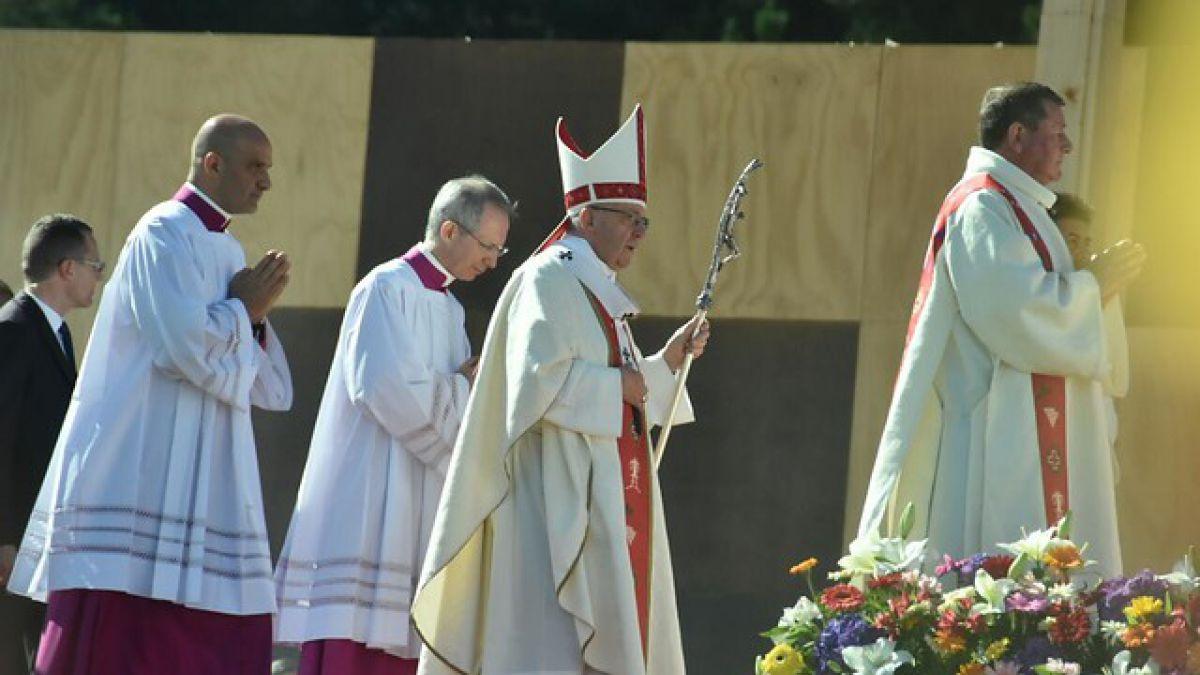Papa Francisco citó canción de Violeta Parra: 'Arauco tiene una pena'