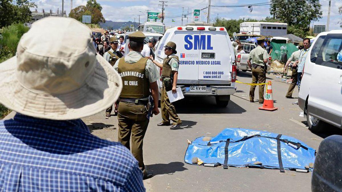 Mujer de 47 años muere tras participar de misa del Papa Francisco en Temuco