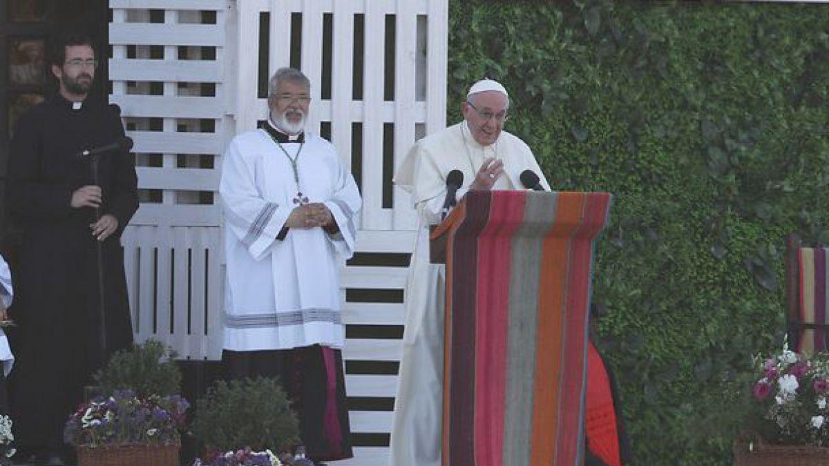 ¿Cuál es la contraseña?: Así se acercó el Papa Francisco a los jóvenes en Maipú