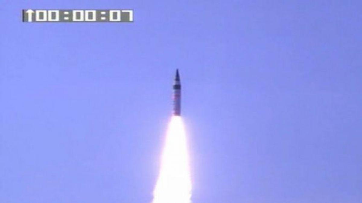 India lanza misil de largo alcance como arma de disuasión en Asia