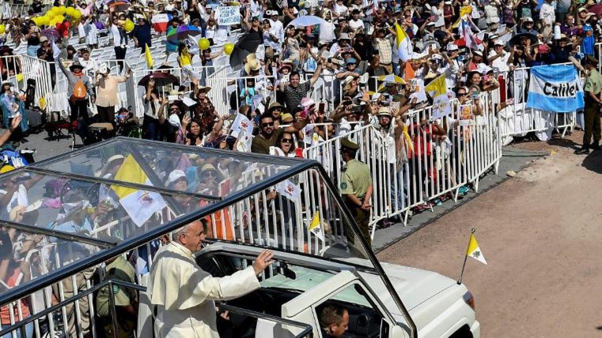 Gobierno hace balance positivo de la visita del papa Francisco a Chile