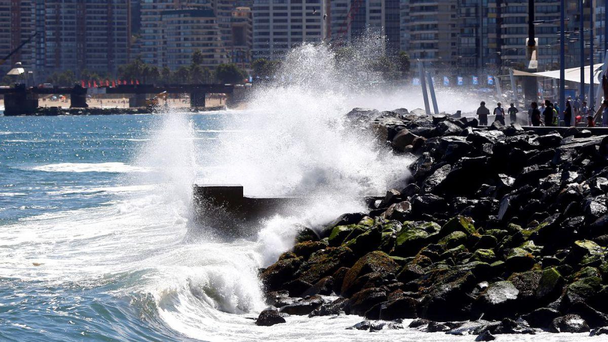 Armada emite alerta por marejadas anormales en el litoral