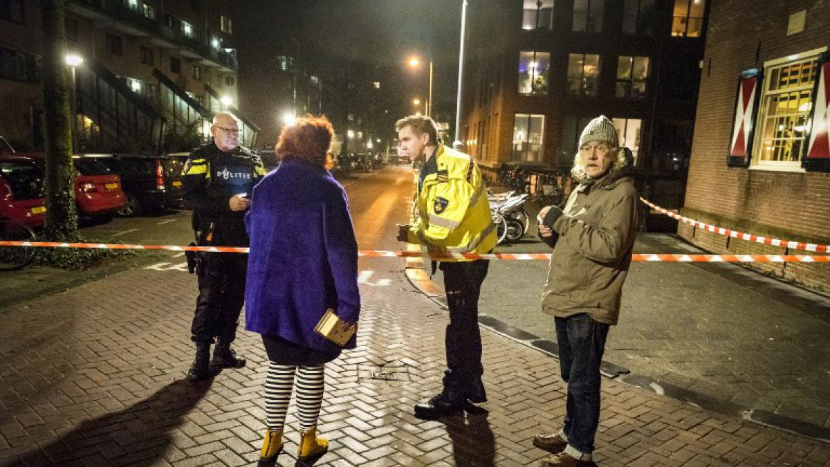 Un muerto y dos heridos tras tiroteo en Amsterdam