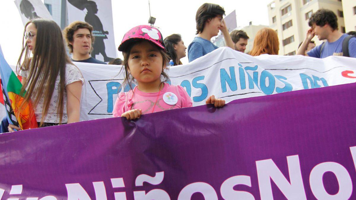 Ley Sophia: Puerto Montt se moviliza tras el brutal caso de una lactante muerta a manos de su padre