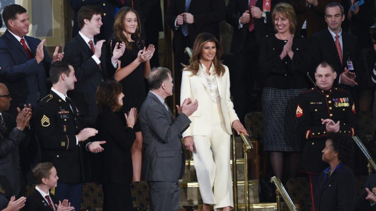 Portavoz de Melania desmiente problemas en el matrimonio Trump