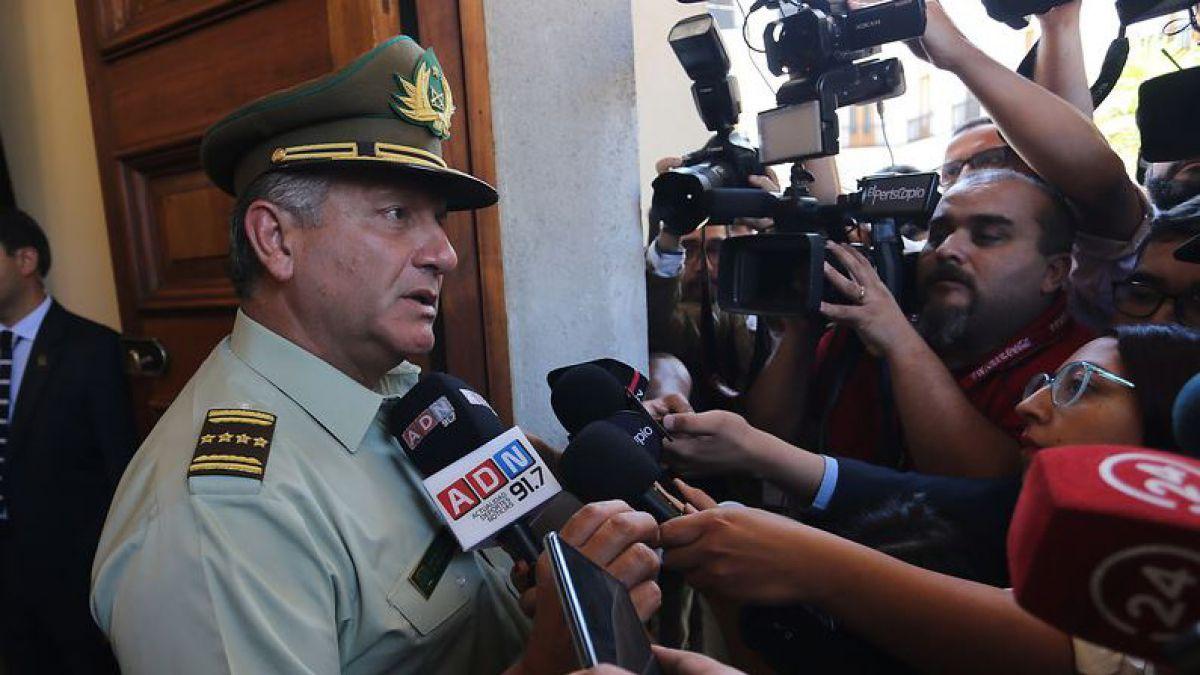 General Bruno Villalobos se mantendrá al mando de Carabineros