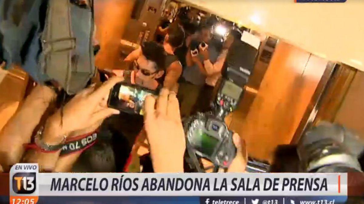 Extenista chileno a periodistas: