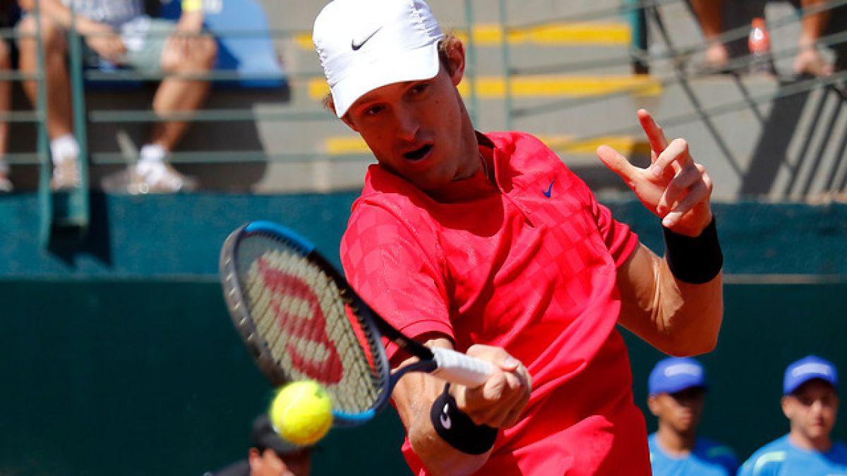Nicolás Jarry remontó y avanzó a cuartos de final en Sao Paulo