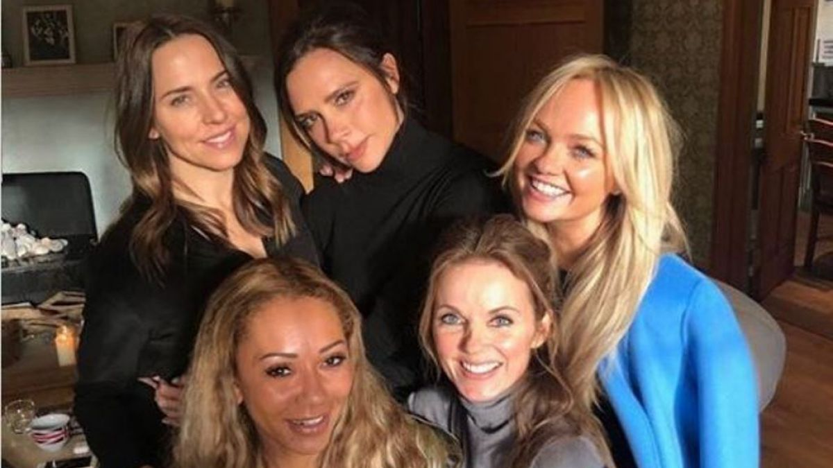 Se reúnen las Spice Girls