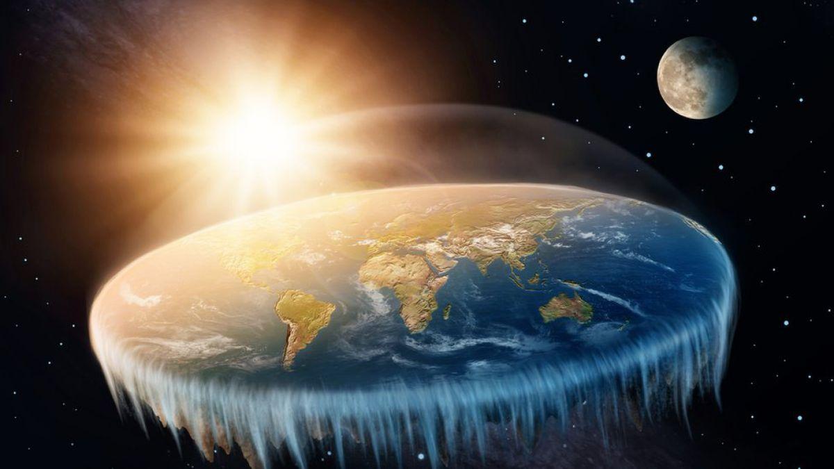 Cómo sería el mundo si la Tierra fuera realmente plana