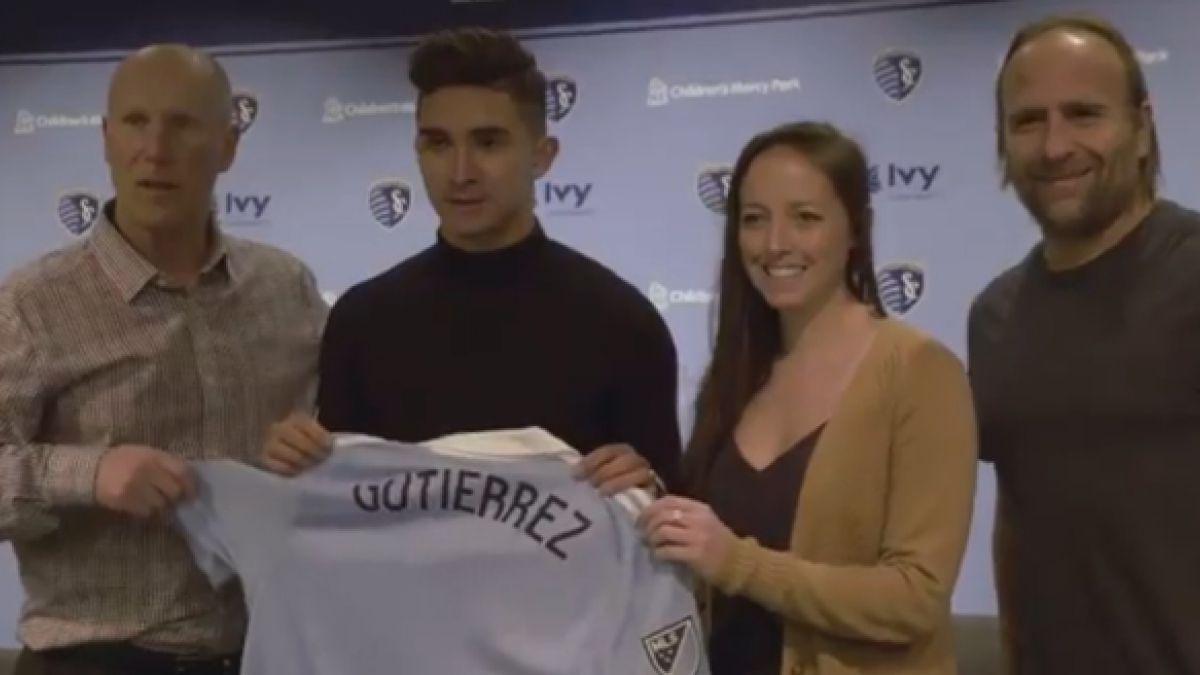 Sporting Kansas City anuncia oficialmente la llegada de Felipe Gutiérrez