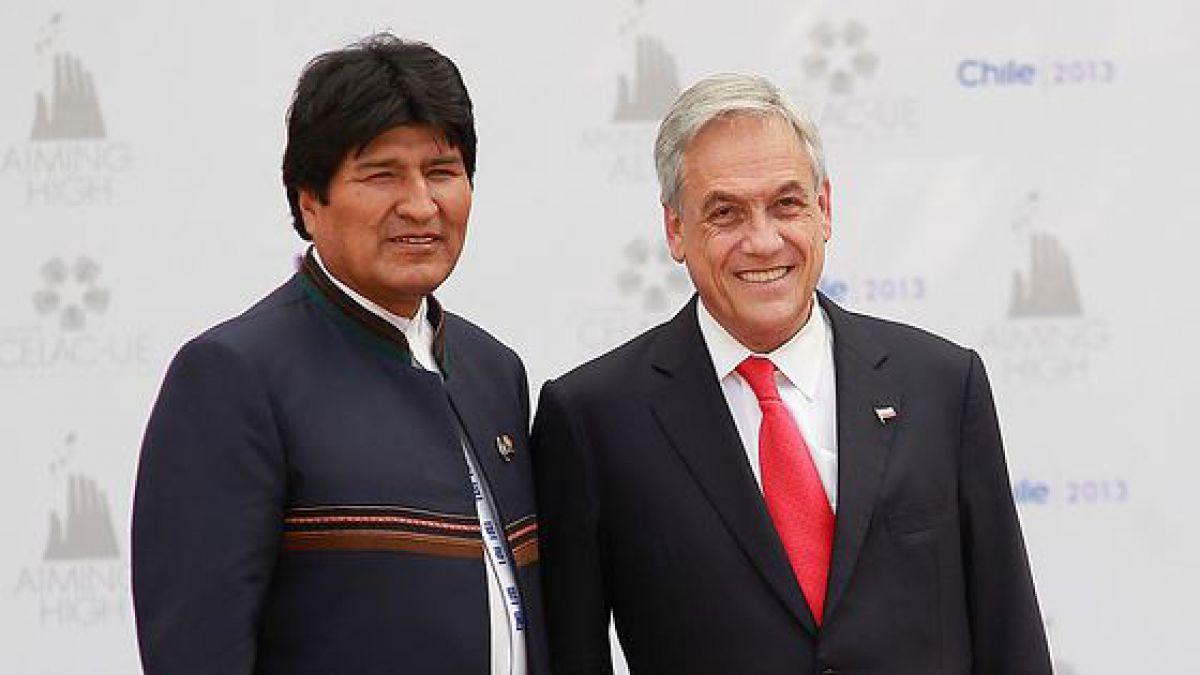 Captan casual encuentro entre Sebastián Piñera y Evo Morales durante la Cumbre de las Américas