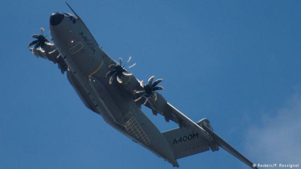 Airbus anuncia acuerdo para la entrega del avión A400M
