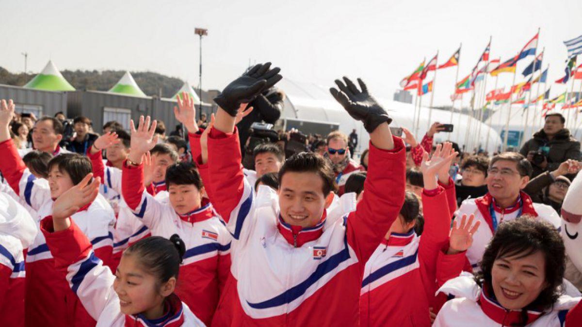 Atletas de Corea del Norte