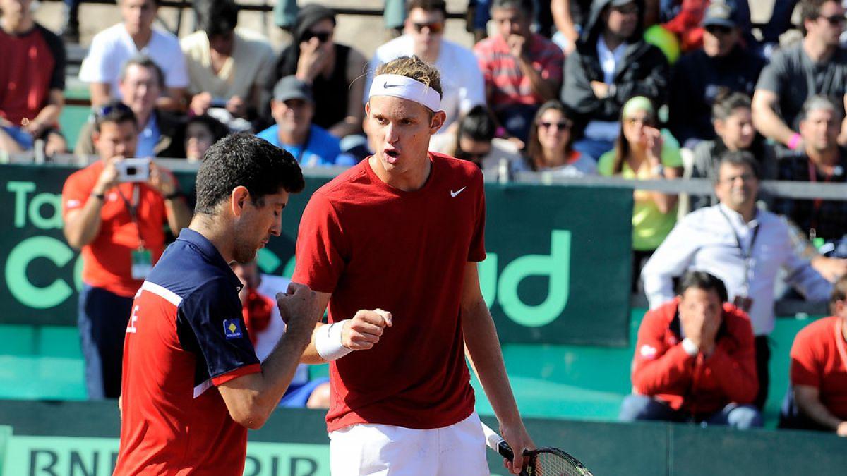 Nicolás Jarry y Hans Podlipnik llegan a la final de dobles en Quito tras derrotar a equipo francés