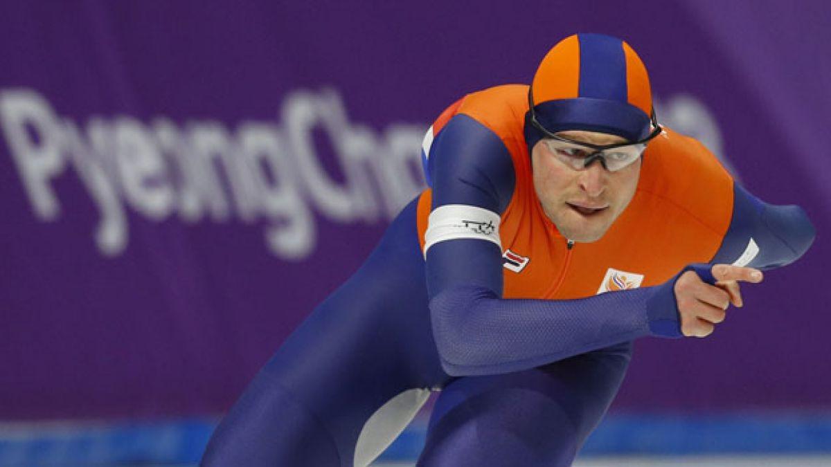 Holandés Sven Kramer se convierte en el patinador de velocidad con más medallas olímpicas