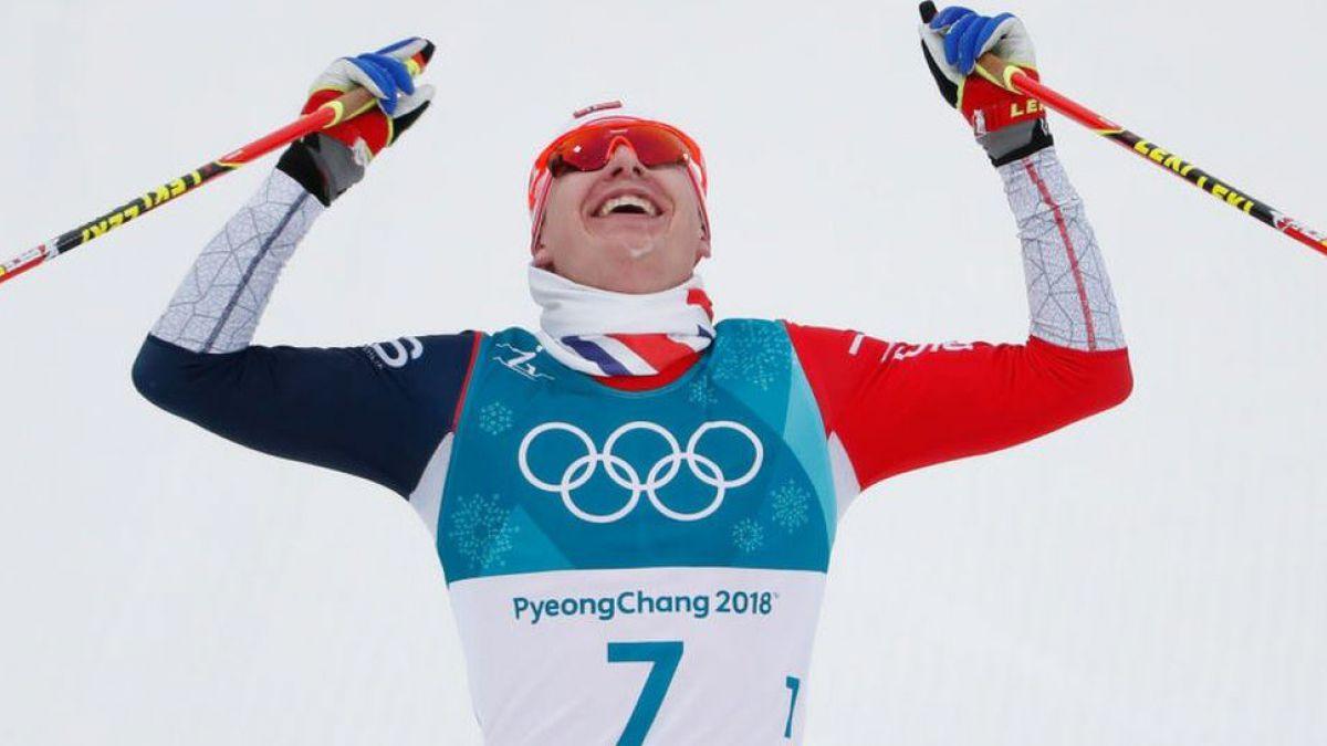 La hazaña de un esquiador noruego para ganar el oro olímpico