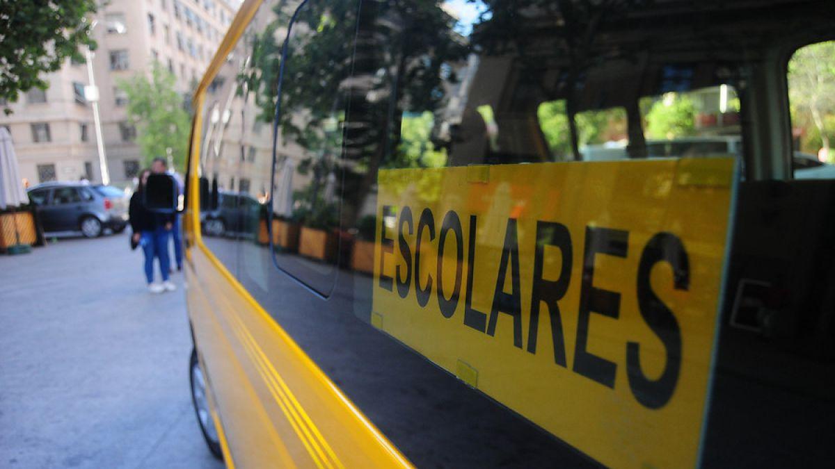 Carabineros entrega recomendaciones para contratar servicios de transporte escolar