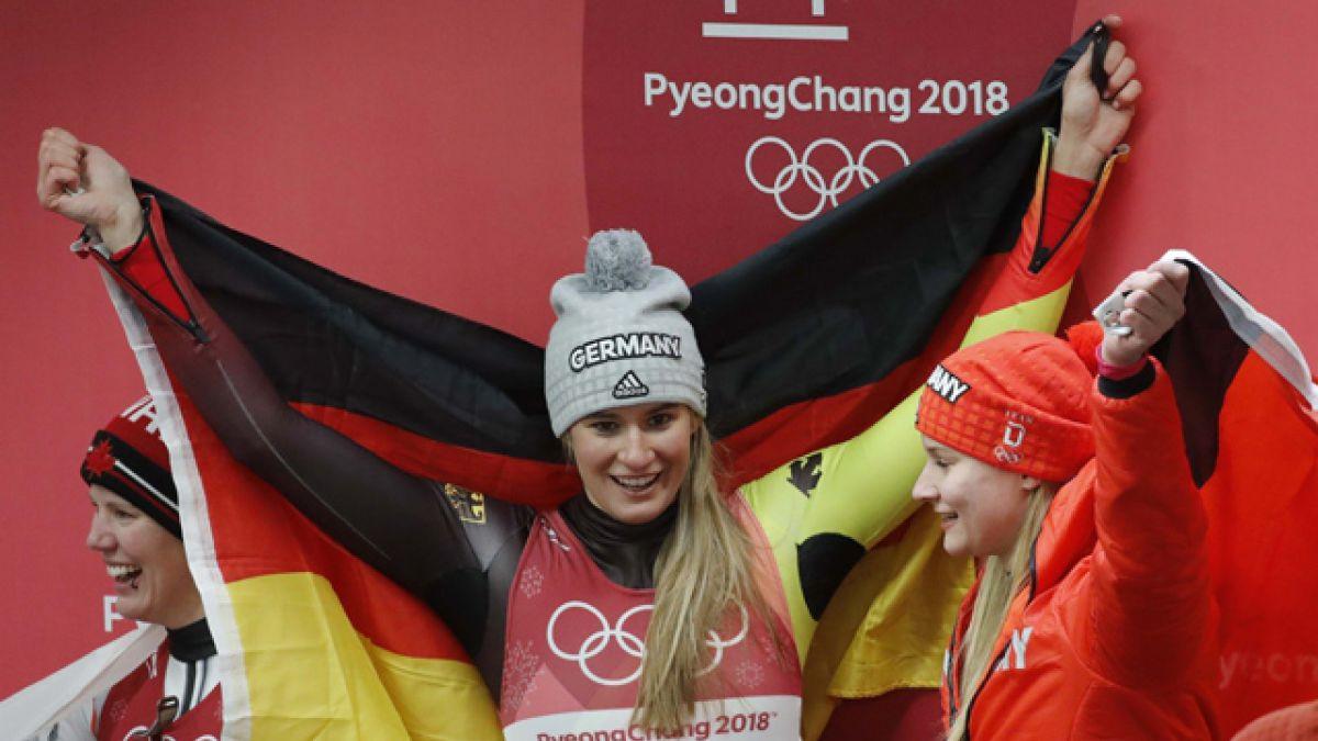 Alemania sigue líder del medallero tras pruebas de este martes en Pyeongchang 2018