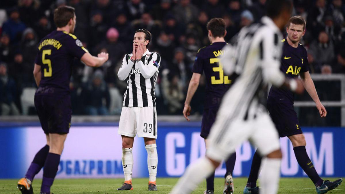 Juventus deja escapar el triunfo ante Tottenham y complica sus chances en Champions