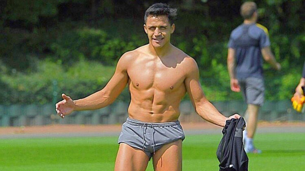 En portada: United destaca el gran cambio físico de Alexis desde su arribo a Europa