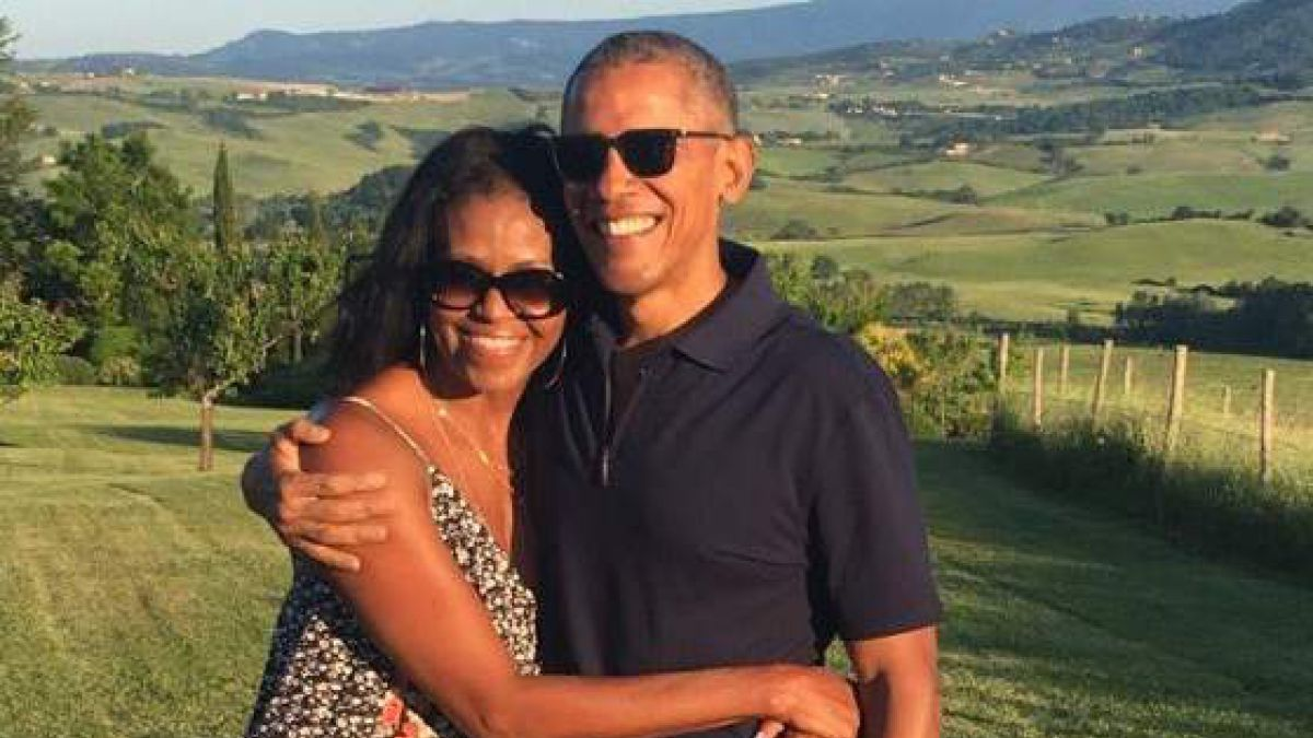 Michelle Obama dedica 44 canciones de amor a Barack Obama