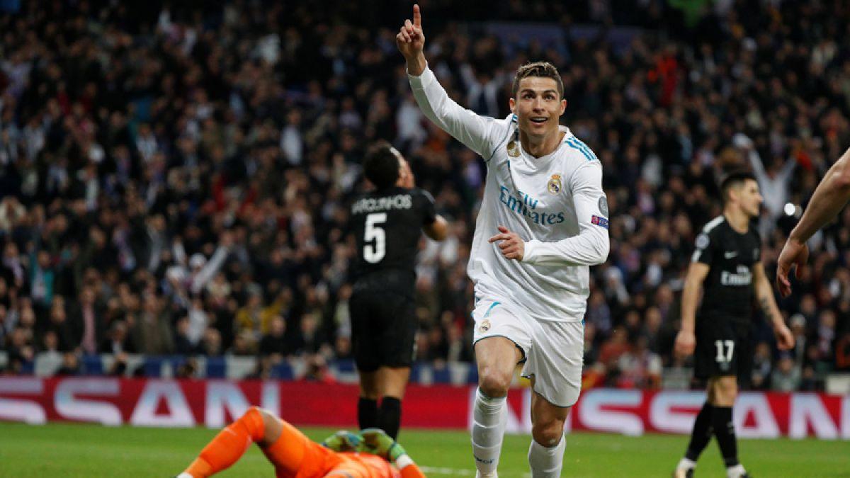 Cristiano se luce con doblete en triunfo del Real Madrid sobre PSG en la Champions