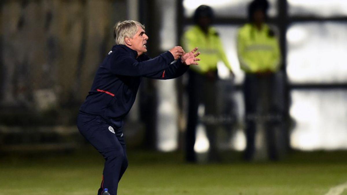 """Técnico de Sport Huancayo elogia a Unión Española: """"Nos ha tocado el rival más difícil"""""""