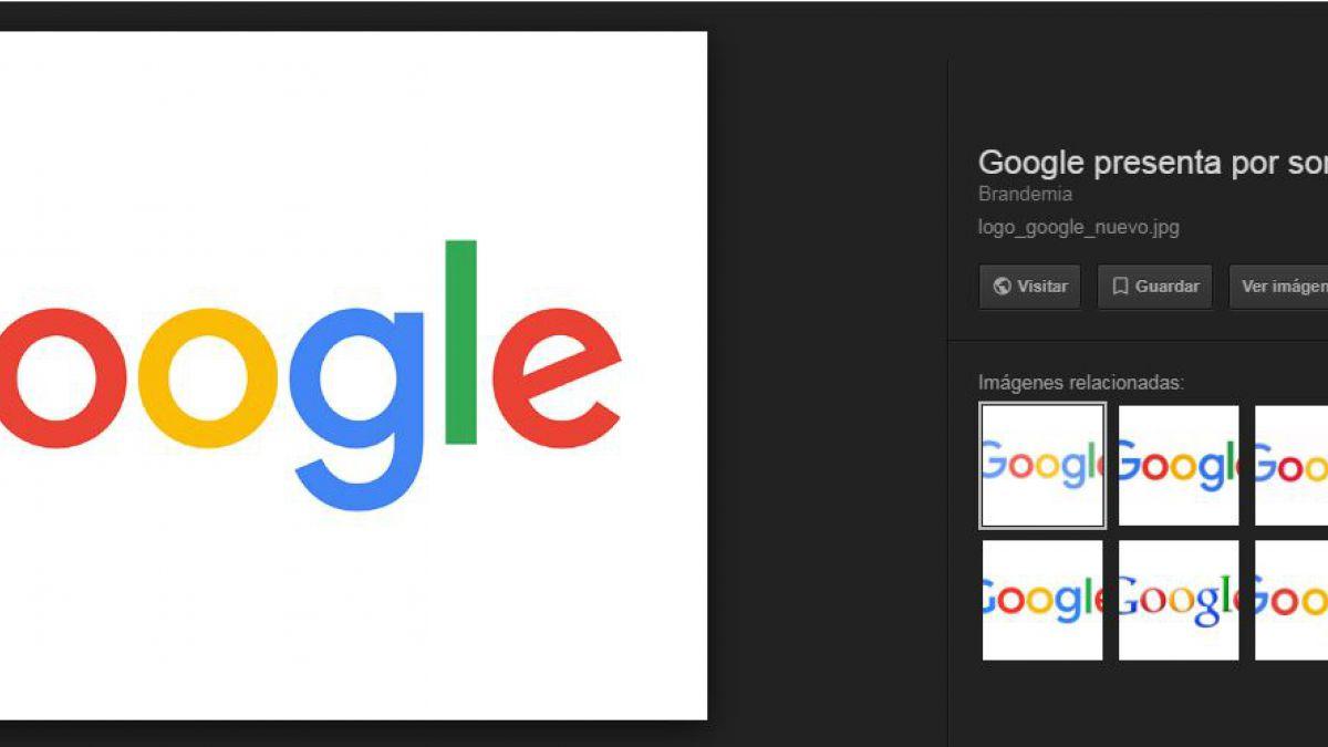 Google eliminará el botón de ver imagen