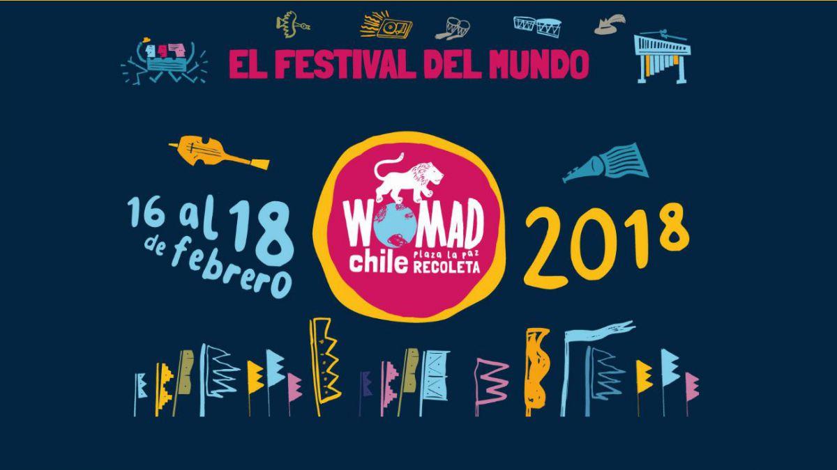 Recoleta anunció desvíos de tránsito por Festival Womad Chile 2018