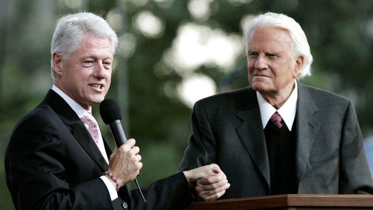 Murió Billy Graham, influyente predicador evangélico de EU