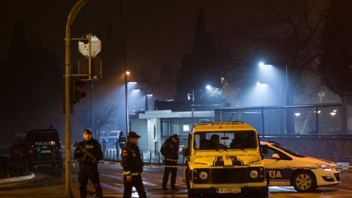 Ataque suicida afecta a embajada de Estados Unidos en Montenegro