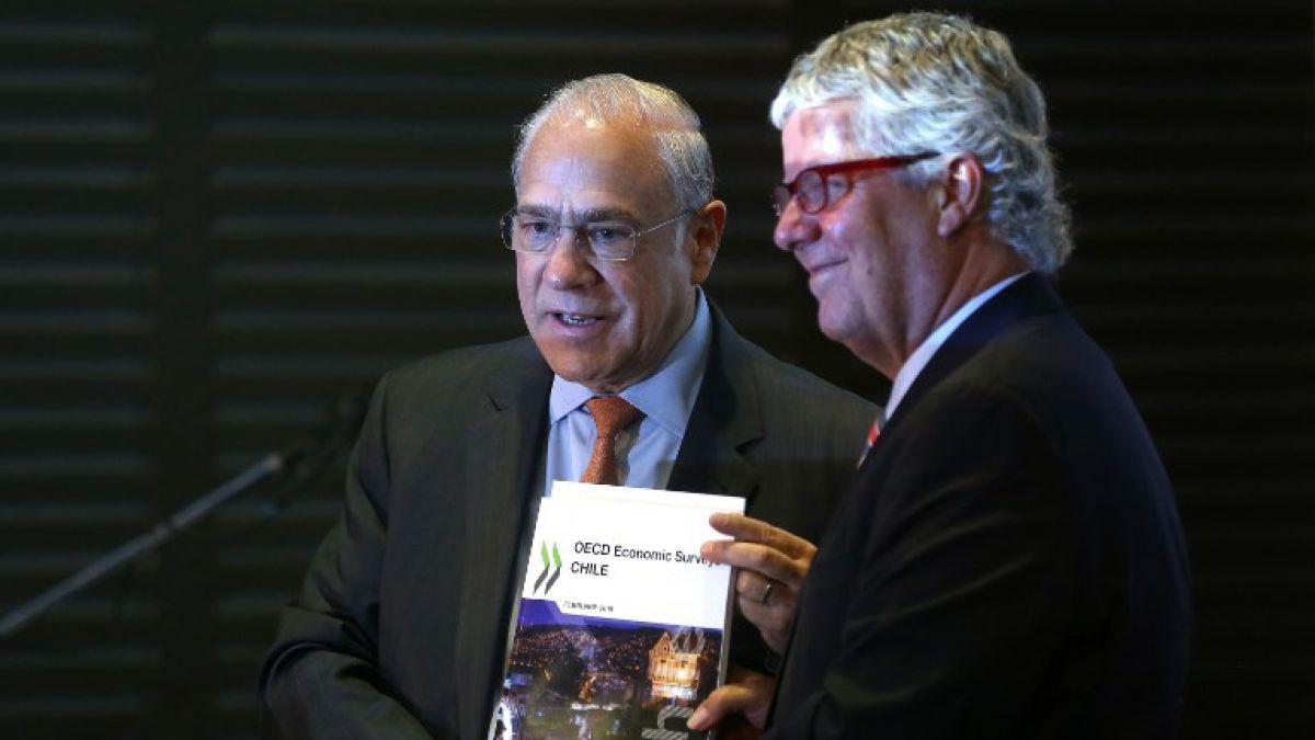 OCDE asegura que baja productividad y desigualdad atentan contra la economía chilena