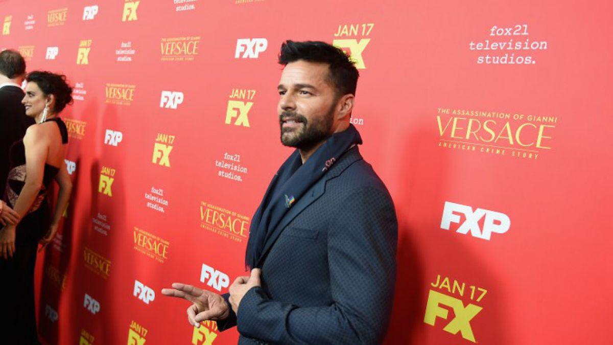 Ricky Martin reveló que una exnovia sabía que era gay
