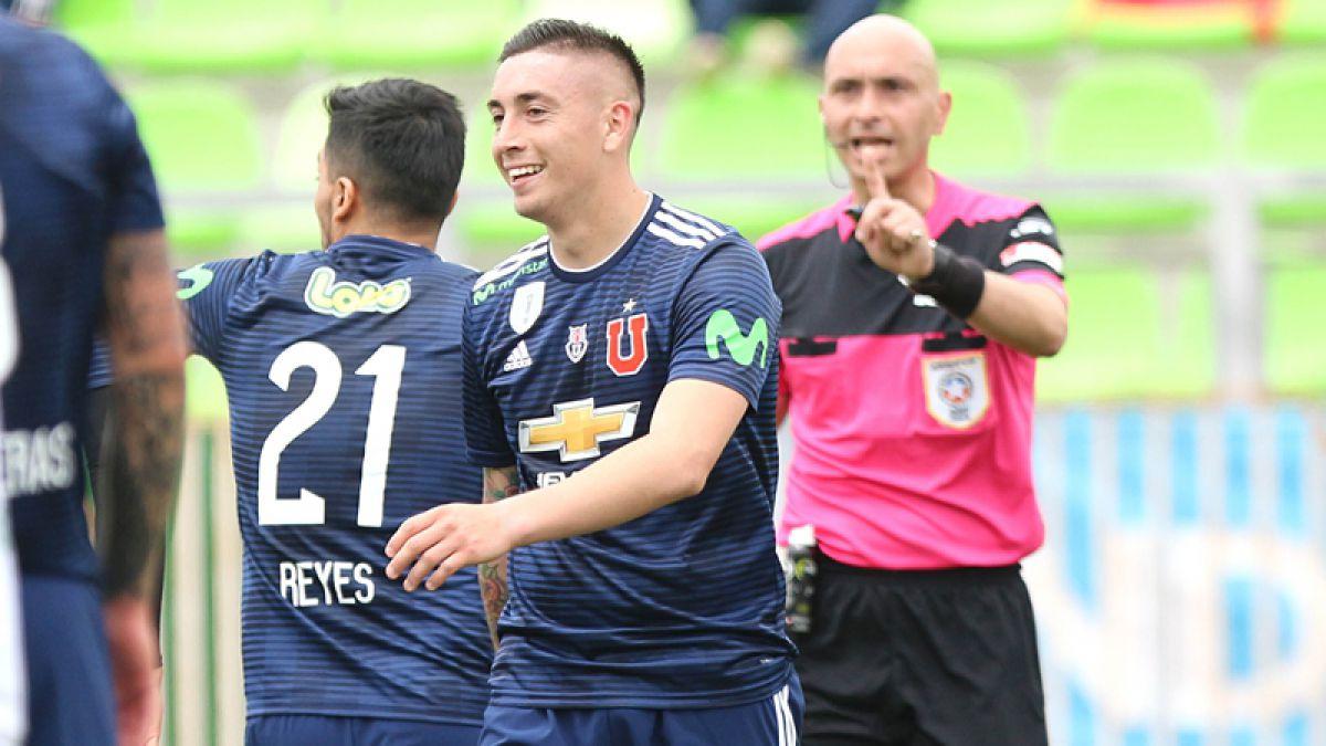La U alista un cambio para el duelo contra Antofagasta pensando en la Libertadores — Formación con Vaz