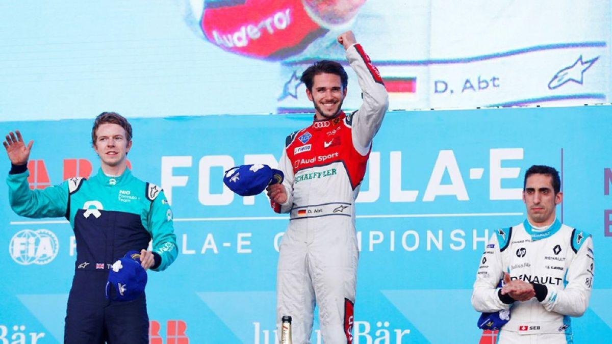 Fórmula E en México: Daniel Abt se llevó la primera