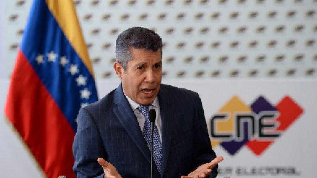 Opositor Falcón desconoce elecciones venezolanas y pide nueva votación